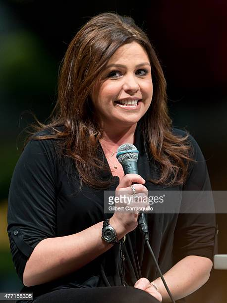 Television Personality Rachael Ray attends Live QA with Rachael Ray at the Philadelphia Flower Show at Pennsylvania Convention Center on March 7 2014...