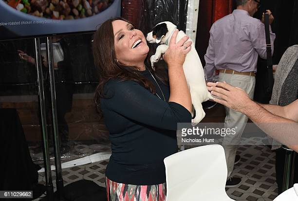 Television personality Rachael Ray attends the launch and celebration of Rachael Ray's Nutrish DISH with a puppy party on September 28, 2016 in New...
