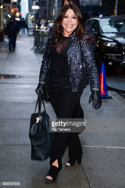 Television personality Rachael Ray enters the The Late Show With Stephen Colbert taping at Ed Sullivan Theater on January 31 2017 in New York City