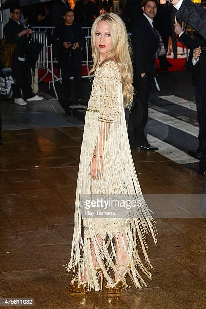 Television personality Rachel Zoe enters the 2015 CFDA Fashion Awards at Alice Tully Hall at Lincoln Center on June 1 2015 in New York City