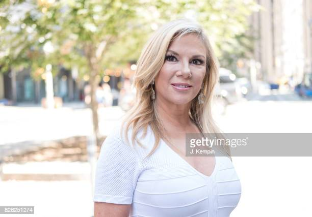 Television personality Ramona Singer visits Extra on August 9 2017 in New York City