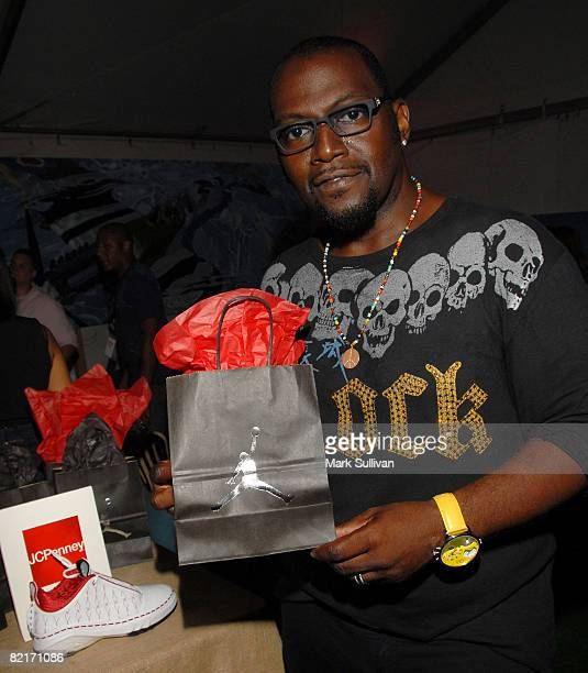 Television personality Randy Jackson attends the Mattel Celebrity Retreat produced by Backstage Creations at Teen Choice 2008 on August 3 2008 in...