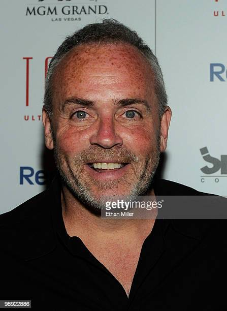 Television personality Richard Hatch arrives at the Tabu Ultra Lounge at the MGM Grand Hotel/Casino for the opening night of the JabbaWockeez dance...