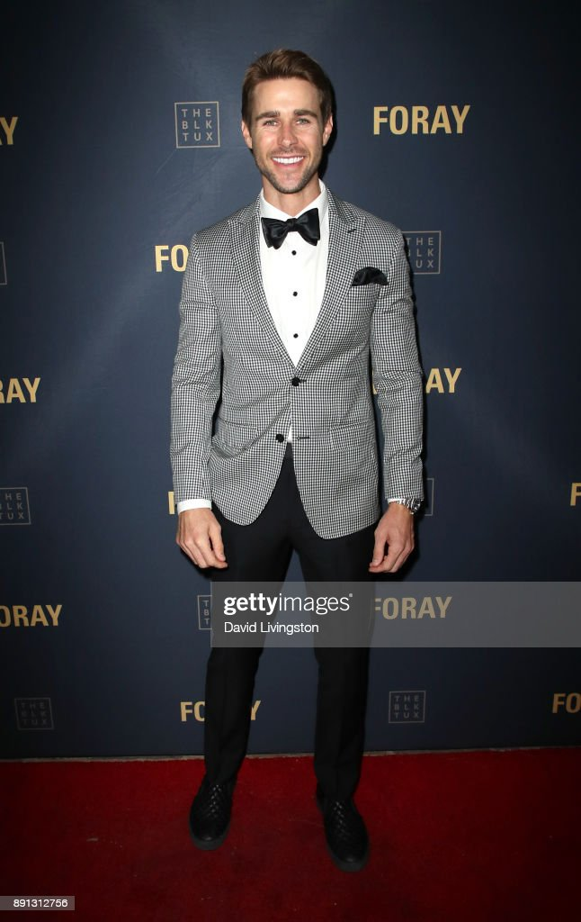 Television personality Robert Graham attends FORAY Collective and The Black Tux Host Holiday Gala on December 12, 2017 in Los Angeles, California.