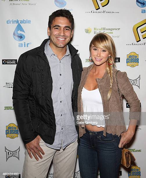 Television personality Roberto Martinez and model/actress Sara Jean Underwood arrive at One Step Closer Foundation's seventh annual AllIn For...