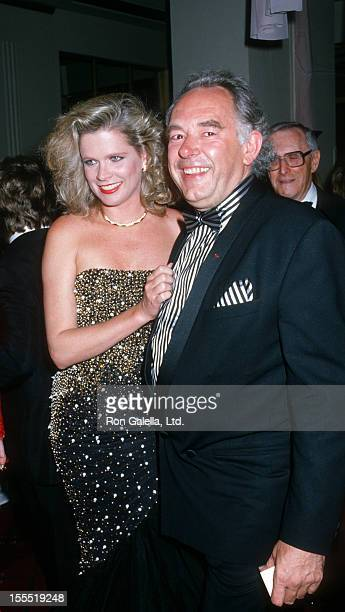 Television Personality Robin Leach and wife Judith Ledford attend Fourth Annual Rita Hayworth Alzheimer's Disease Benefit on May 16 1988 at the...