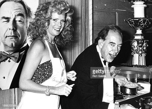 Television Personality Robin Leach and wife Judith Ledford attend Gourmet Gala Benefiting the March of Dimes on November 21 1989 at the Plaza Hotel...