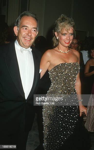 Television Personality Robin Leach and wife Judith Ledford attend Salute to Hollywood Benefit Gala on September 18 1987 at the Beverly Hilton Hotel...