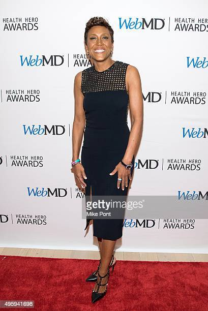 Television personality Robin Roberts attends the 2015 Health Hero Awards at The Times Center on November 5 2015 in New York City