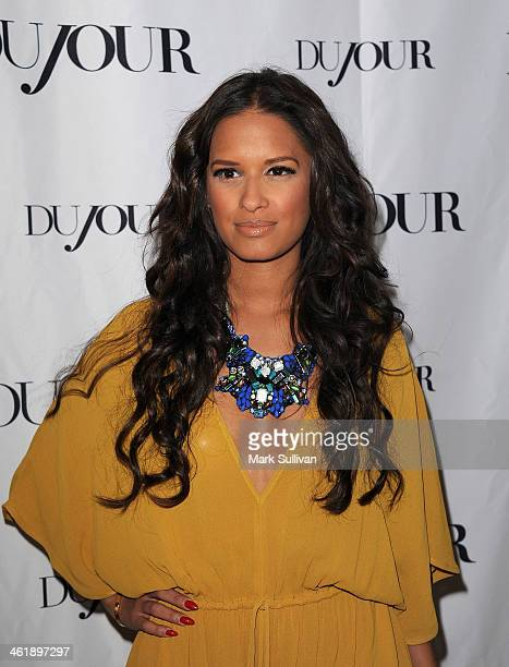 Television personality Rocsi Diaz attends DuJour Magazine's celebration of The Great Performances issue featuring 'Twelve Years A Slave' breakout...