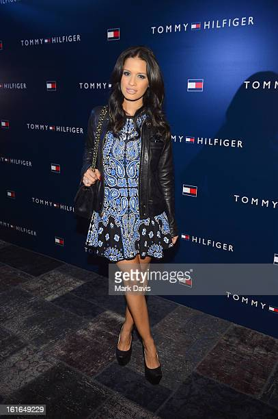 Television personality Rocsi Diaz attends Tommy Hilfiger New West Coast Flagship Opening After Party at a Private Club on February 13 2013 in West...