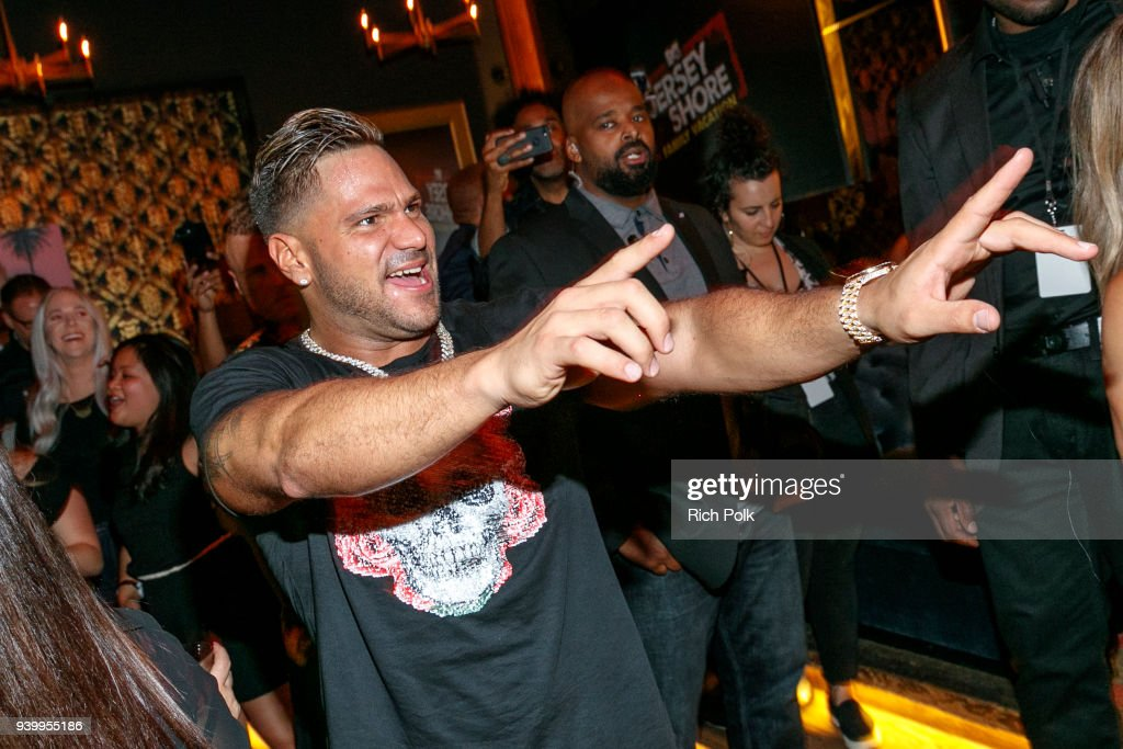 """Jersey Shore Family Vacation"" Premiere Party : News Photo"