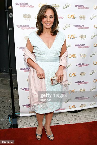 Television personality Rosanna Scotto attends The Wendy Williams Show Launch Party at The Gates on July 13 2009 in New York City