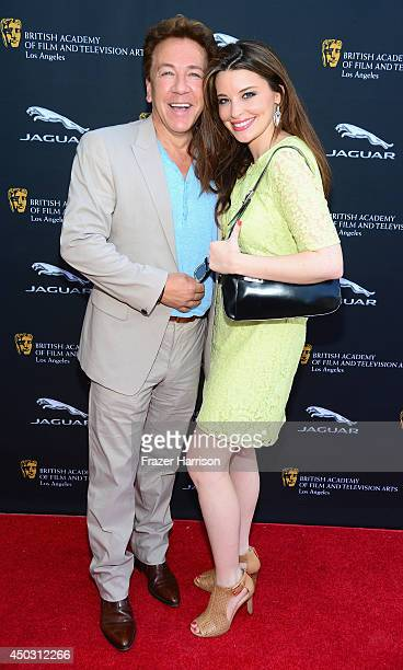 Television Personality Ross King and Brianna Deutsch attend BFTA LA Garden Party at British Consul Generals Residence on June 8 2014 in Los Angeles...