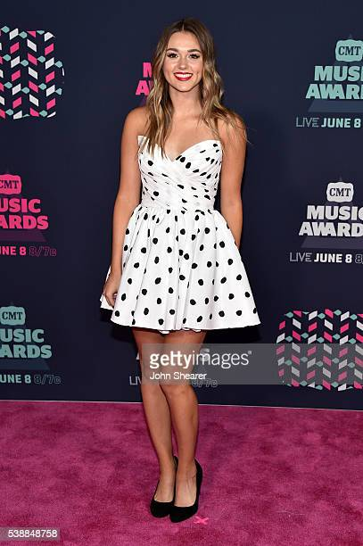 Television personality Sadie Robertson attends the 2016 CMT Music awards at the Bridgestone Arena on June 8 2016 in Nashville Tennessee