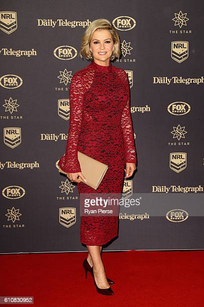 Television personality Sandra Sully arrives at the 2016 Dally M Awards at Star City on September 28 2016 in Sydney Australia