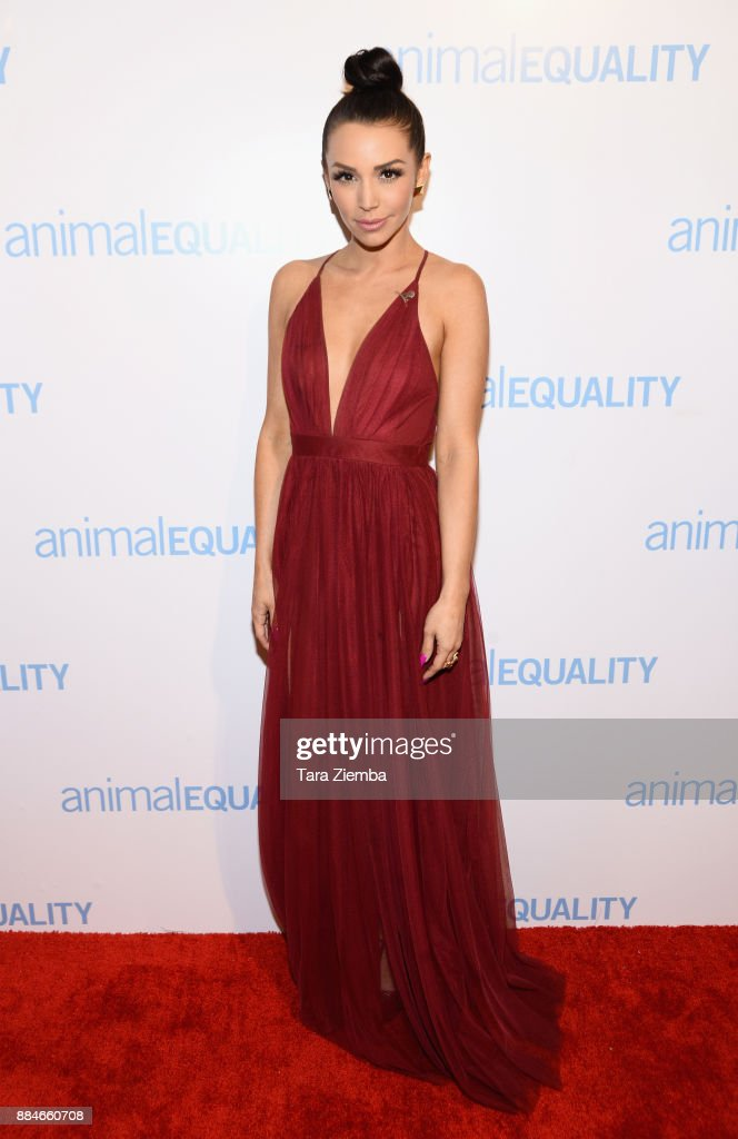 Television personality Scheana Marie attends the Animal Equality Global Action annual gala at The Beverly Hilton Hotel on December 2, 2017 in Beverly Hills, California.