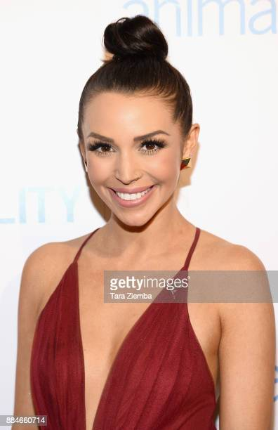 Television personality Scheana Marie attends the Animal Equality Global Action annual gala at The Beverly Hilton Hotel on December 2 2017 in Beverly...