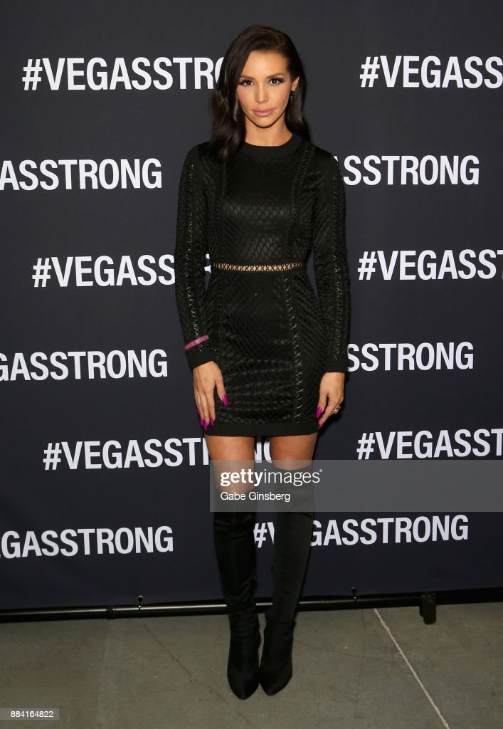 Television personality Scheana Marie attends the Vegas Strong Benefit Concert at T-Mobile Arena to support victims of the October 1 tragedy on the Las Vegas Strip on December 1, 2017 in Las Vegas, Nevada.