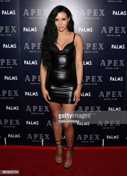 Television personality Scheana Shay attends the grand opening of Apex Social Club at the Palms Casino Resort on May 27 2018 in Las Vegas Nevada