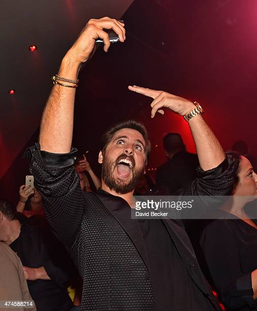 Television personality Scott Disick attends his birthday celebration at 1 OAK Nightclub at The Mirage Hotel Casino on May 23 2015 in Las Vegas Nevada