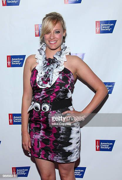 Television personality Shallon Lester attends The American Cancer Society's 2010 Pink and Black Tie Gala at Steiner Studios on May 6, 2010 in the...