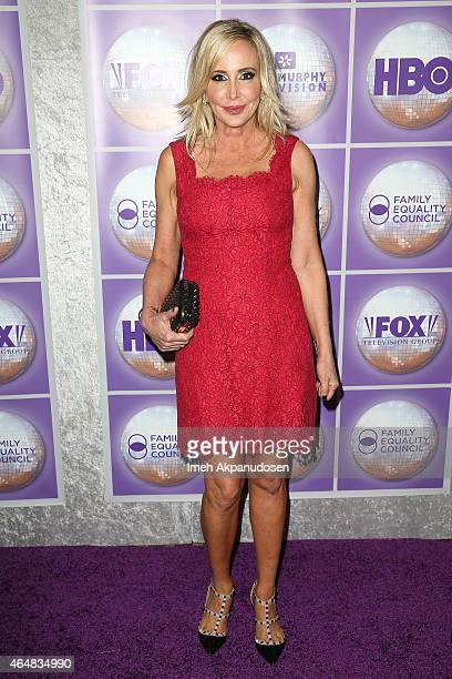 Television personality Shannon Beador attends the Family Equality Council's Los Angeles Awards Dinner at The Beverly Hilton Hotel on February 28 2015...