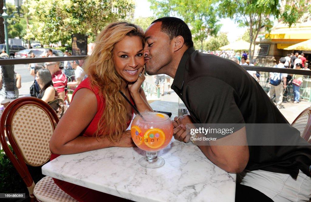 Sheree Fletcher and her ex-husband, Terrell Fletcher