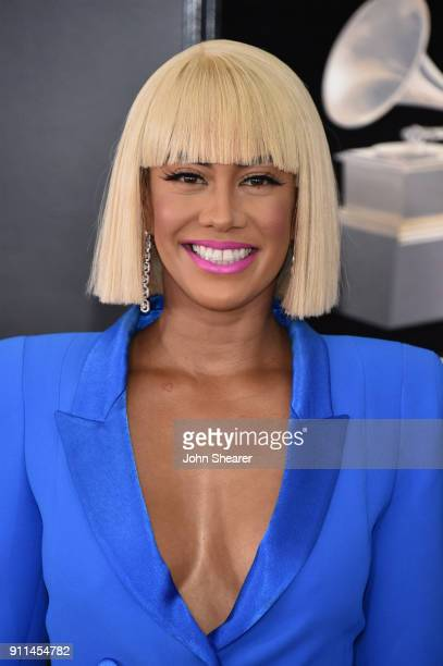 Television personality Sibley Scoles attends the 60th Annual GRAMMY Awards at Madison Square Garden on January 28 2018 in New York City