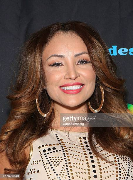 Television personality Silvia del Valle La Bronca arrives at Telemundo and mun2's final 2013 Descarga concert at the Fremont Street Experience on...