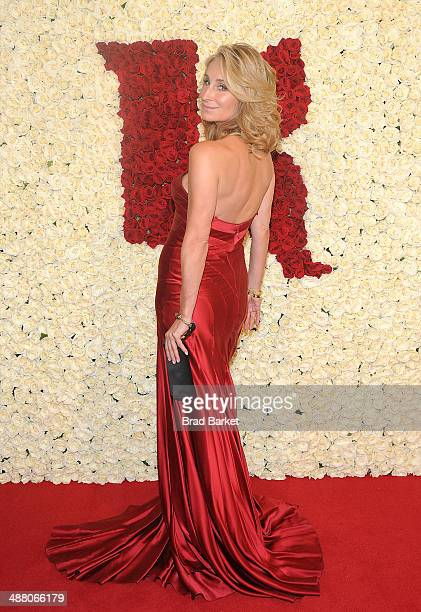 Television personality Sonja Morgan visits the Ketel One VIP Red Carpet Suite at the 25th Annual GLAAD Media Awards on May 3 2014 in New York City