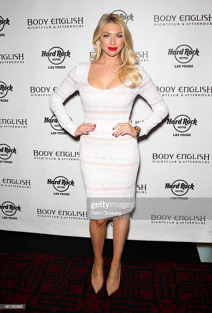 Stassi Schroeder Hosts Body English Nightclub Inside Hard Rock Hotel & Casino