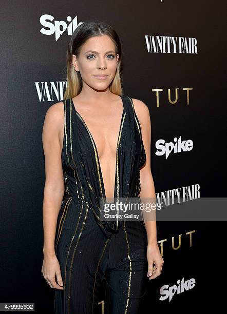 Television personality Stephanie Bauer as Vanity Fair and Spike celebrate the premiere of the new series TUT at Chateau Marmont on July 8 2015 in Los...