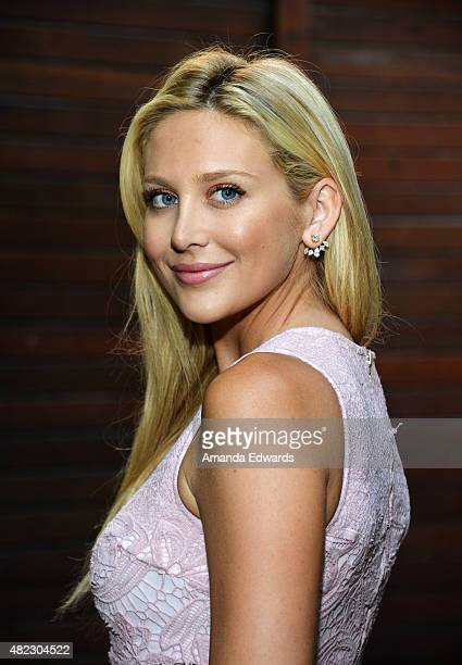 Television personality Stephanie Pratt attends the Sam Rubin Malibu BUCKiTDREAM Dream dinner at a private residence on July 29 2015 in Malibu...
