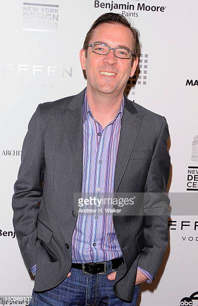 Television personality Ted Allen attends the 2011 DIFFA DINING BY DESIGN New York Gala Dinner at Pier 94 on March 21 2011 in New York City