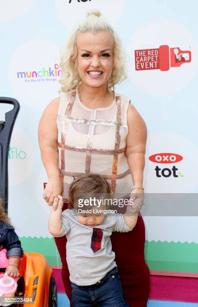 Television personality Terra Jole and Grayson Gnoffo attend the 6th Annual Celebrity Red CARpet Safety Awareness Event at Sony Studios Commissary on...