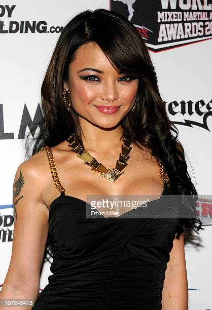 Television personality Tila Tequila arrives at the third annual Fighters Only World Mixed Martial Arts Awards 2010 at the Palms Casino Resort...