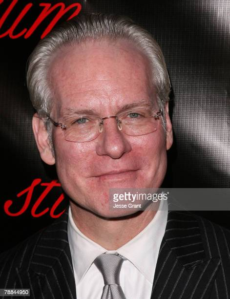 Television personality Tim Gunn arrives at the Style Your Slim event presented by Slim Fast at Boulevard3 on January 8 2007 in Hollywood California