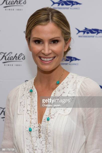 Television personality Tracy Hutson attends the launch of Limited Edition Superbly Restorative Argan Body Lotion on April 22 2009 in Santa Monica...