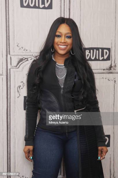 Television personality Trina visits Build to discuss 'Love and Hip Hop Miami' at Build Studio on December 12 2017 in New York City