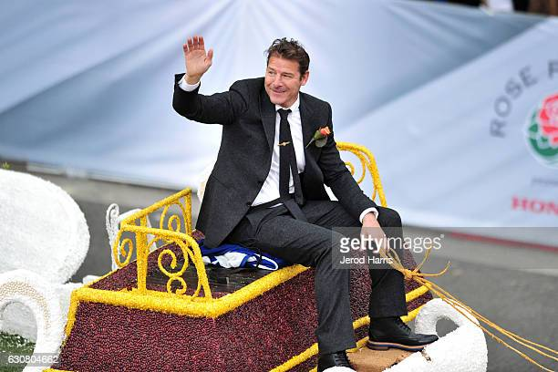 Television personality Ty Pennington appears in the 128th Tournament Of Roses Parade on January 2 2017 in Pasadena California