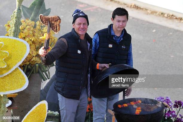 Television personality Ty Pennington participates in the 2018 Tournament Of Roses Parade Presented By Honda on January 1 2018 in Pasadena California