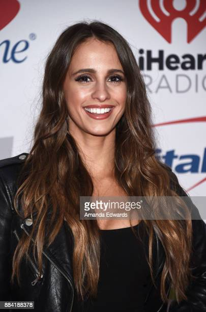 Television personality Vanessa Grimaldi arrives at 1027 KIIS FM's Jingle Ball 2017 at The Forum on December 1 2017 in Inglewood California