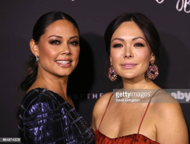 Television personality Vanessa Lachey and actress Lindsay Price attend the 7th Annual Baby Ball Gala at NeueHouse Hollywood on October 21 2017 in Los...
