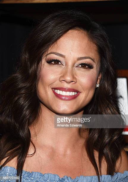 Television personality Vanessa Lachey attends JCPenney's Back to School community event with Vanessa Lachey at the Hollywood YMCA on August 3, 2016...