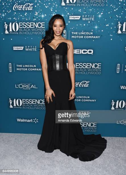 Television personality Vanessa Simmons arrives at the Essence 10th Annual Black Women in Hollywood Awards Gala at the Beverly Wilshire Four Seasons...