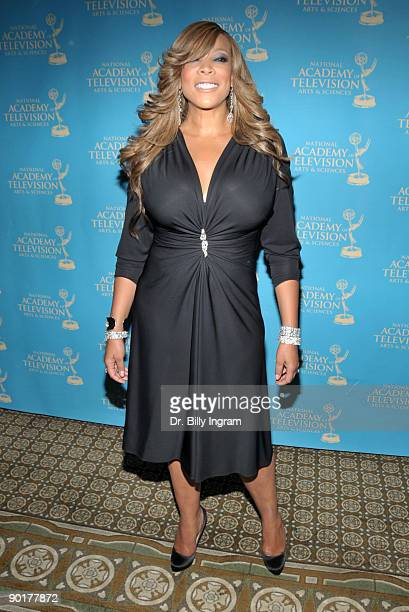 Television personality Wendy Williams arrives at the 36th Annual Daytime Creative Arts Emmy Awards at the Westin Bonaventure Hotel on August 29 2009...