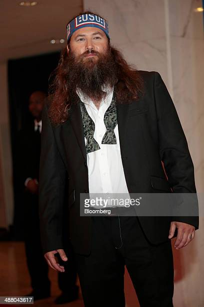 Television personality Willie Robertson arrives for the White House Correspondents' Association dinner in Washington DC US on Saturday May 3 2014 The...