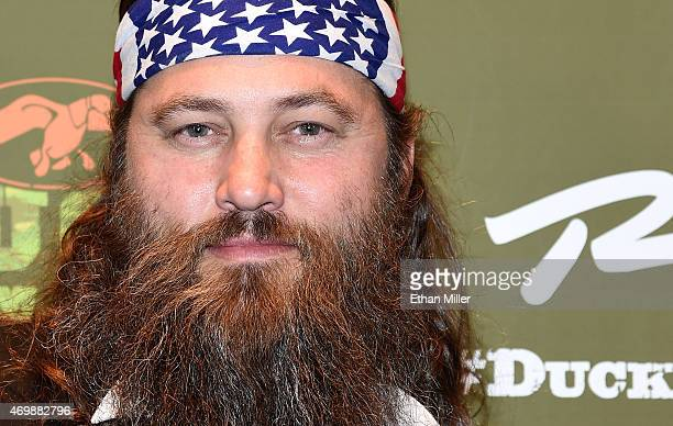 Television personality Willie Robertson attends the Duck Commander Musical premiere at the Crown Theater at the Rio Hotel Casino on April 15 2015 in...