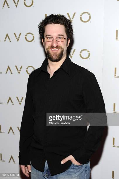 Television personality/actor Dustin Diamond AKA 'Screech' arrives to host National Nerd Day at Lavo on May 25 2010 in Las Vegas Nevada